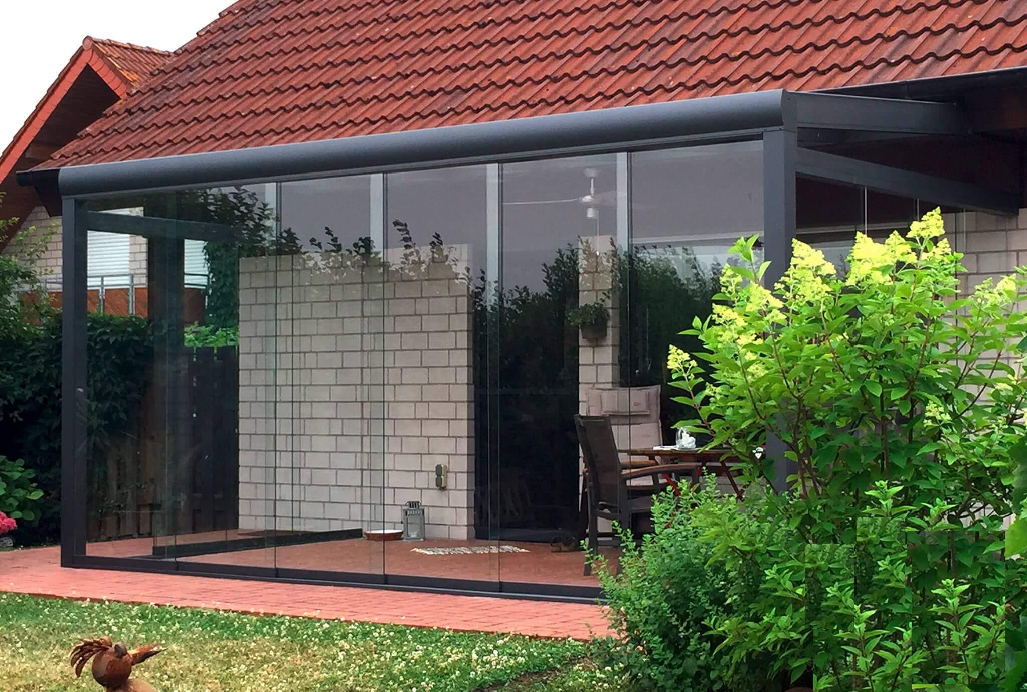 solidSLIDE Glas Schiebewand System ohne ESG/Glas – solidus®