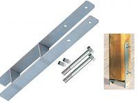 H-Anker Pfostenträger für 10x10 und 12x12 cm Pfosten