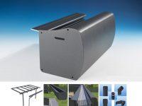 solidDROP XL Alu Regenrinne für solidTREND und solidCOMFORT