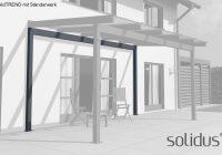 Alu-Ständerwerk für solidPREMIUM, solidTREND und solidSMART