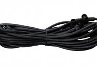 4er-Verteilerkabel 12V, schwarz, 10m für solidLIGHT Basic 5er-LED